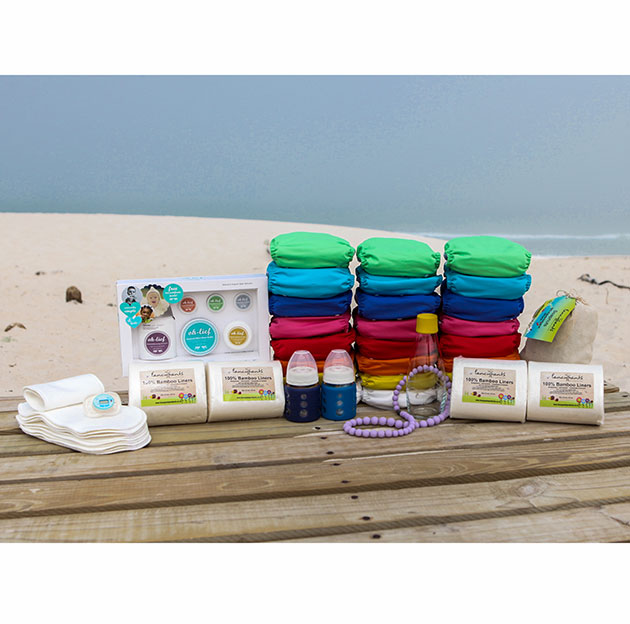 Fancypants - Fabulous Full Time BAMBOO Nappy Pack